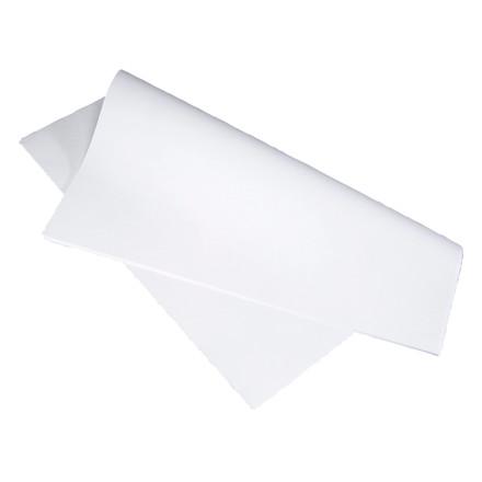 Stikdug Rebel glat papir hvid - 60 x 60 cm - 90 gram - 250 stk. i en pakke