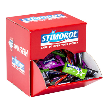 Stimorol display - dental assorteret - 170 poser af 2 stk.