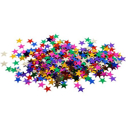 Stjernepailletter størrelse 10 mm | 10 gram