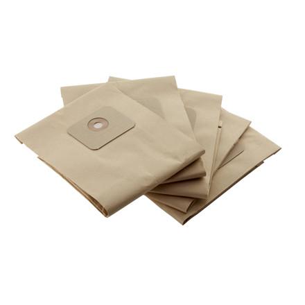 Støvsugerpose, Nilfisk, brun, til VP300, papir, 10 l