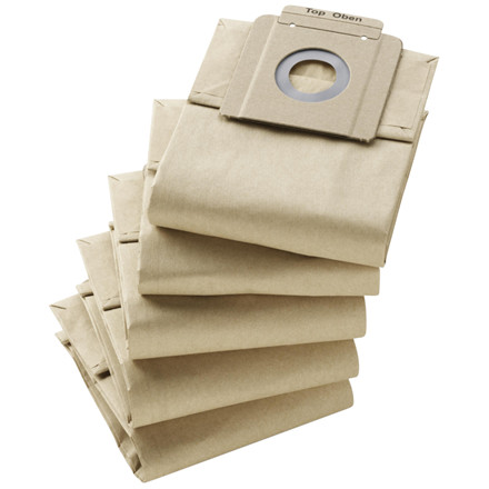 Støvsugerposer, Kärcher, brun, til T 10/1, papir, 10 l,