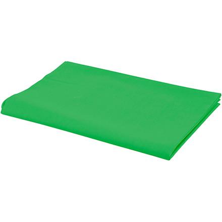Stof bredde 145 cm 140 g/m2 grøn | 1 løbende meter