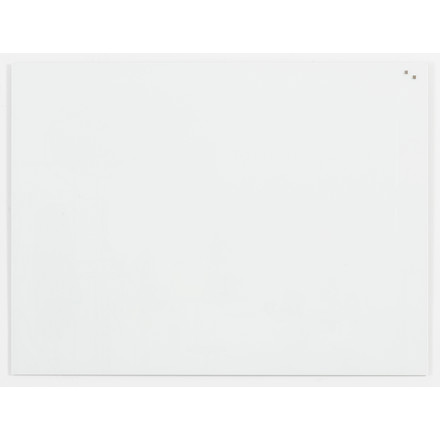 Stor Naga Glastavle - 120 x 90 cm magnetisk hvid