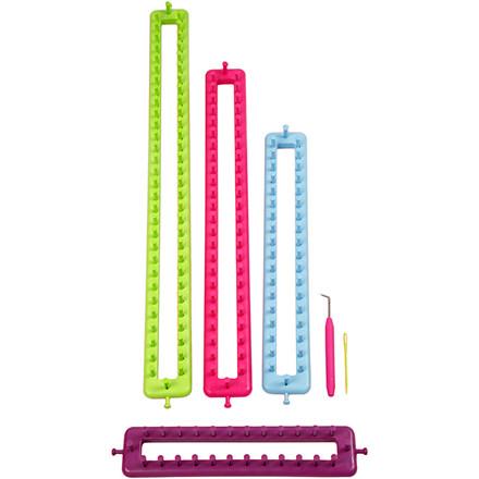 Strikkeringe længde 25-35-45-55 cm | 1 sæt