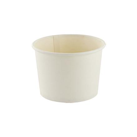 Suppebæger pap hvid - 350 ml - 500 stk.