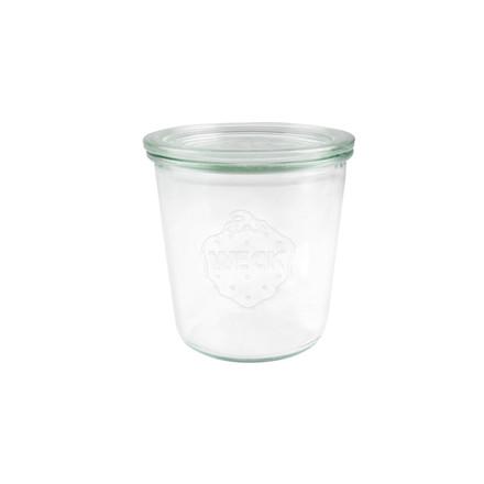 Sylteglas Weck incl låg (742) 580ml Ø10x10,7cm 6stk/pak