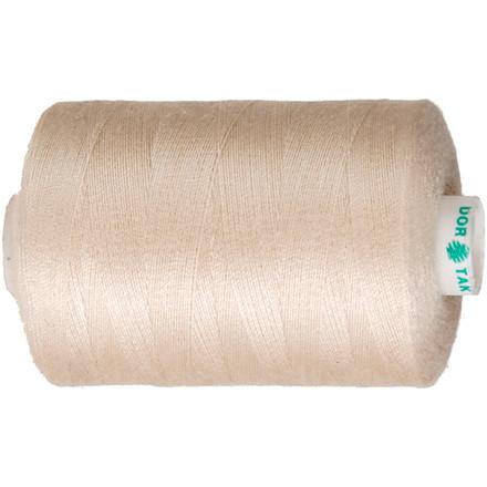 Sytråd beige polyester   1000 meter