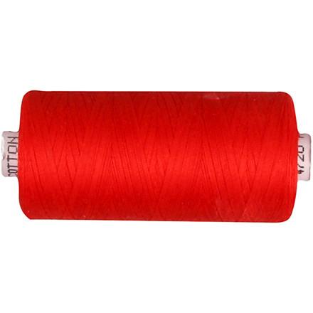 Sytråd rød bomuld   1000 meter