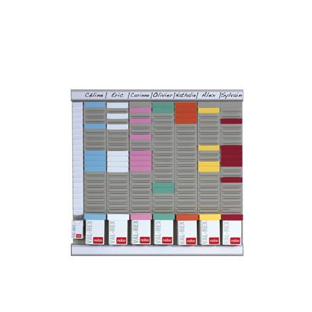 T-kort planlægningssæt - 8 kolonner 24 felter 48 x 48 cm