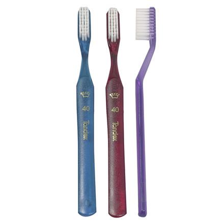 Tandbørste, Tandex 40, voksen, blød,