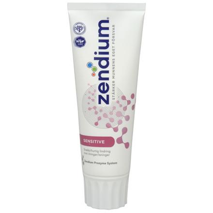 Tandpasta, Zendium, Sensitiv, 75 ml,