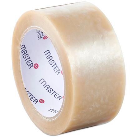Pakketape transparent Master'In PP28 solvent støjsvag - 48 mm x 66 m