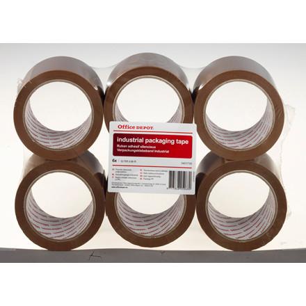 Tape PP36 acrylic brun - 50 mm x 66 m støjsvag