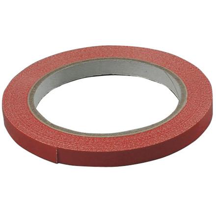 Tape PVC-s rød 9mmx66m - 1 rulle
