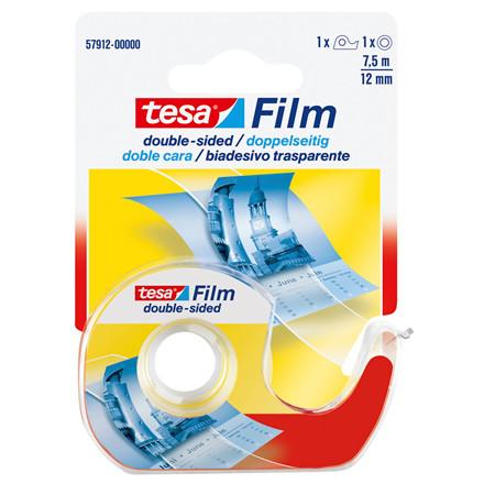 Tape tesa dobbeltklæbende klar - 12 mm x 7,5 m 57912