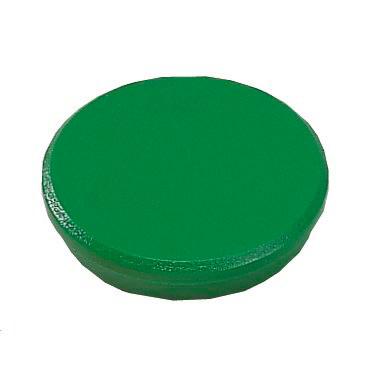 Whiteboard magneter - Dahle 24 mm rund grøn - 10 stk.