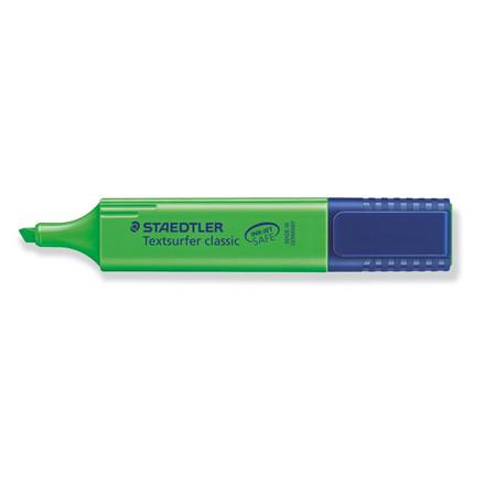 Tekstmarker Staedtler 364 grøn Textsurfer Classic inkjet