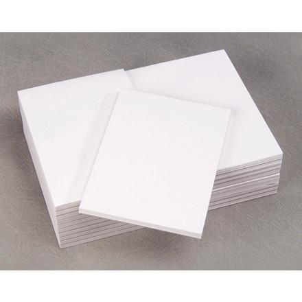 Telefonblok - A6 Limet blank 60g 105 x 148 mm - 80 ark