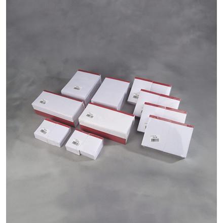 Telefonblokke 83 x 148 mm - Med perforeret blanke sider uden linjer