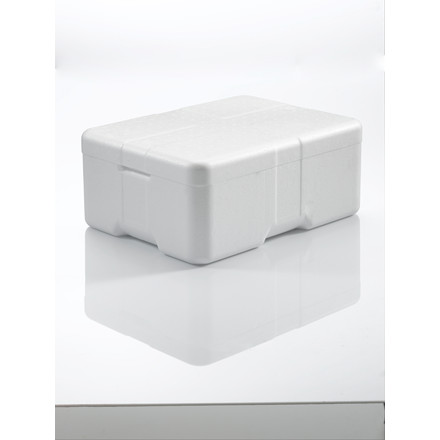 Termoskumkasse Coolsafe 1 hvid - 400 x 300 x 165 mm - inklusiv låg