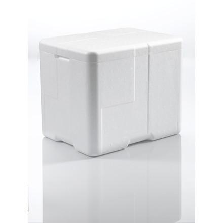 Termokasse Coolsafe 3 hvid - 400 x 300 x 330 mm - inkl. låg