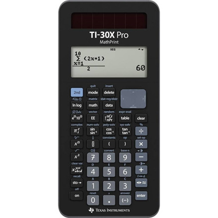Texas Instruments Texas TI-30X Pro Mathprint Scientific calculator