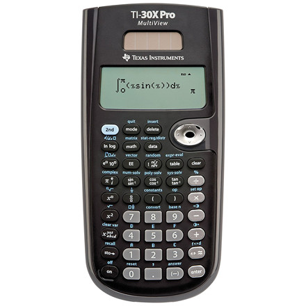 Texas Instruments Texas TI-30X Pro MultiView™ Scientific calculator