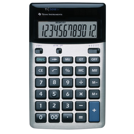Texas Instruments Texas TI-5018 SV desktop calculator