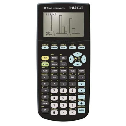 Texas Instruments Texas TI-82 Stats calculator <UK MANUAL>