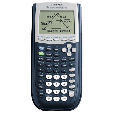 Grafregner - Texas Instruments Texas TI-84 Plus Graphing calculator