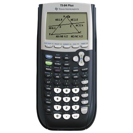 Texas TI 84 Plus - Matematik Regnemaskine med graphlink