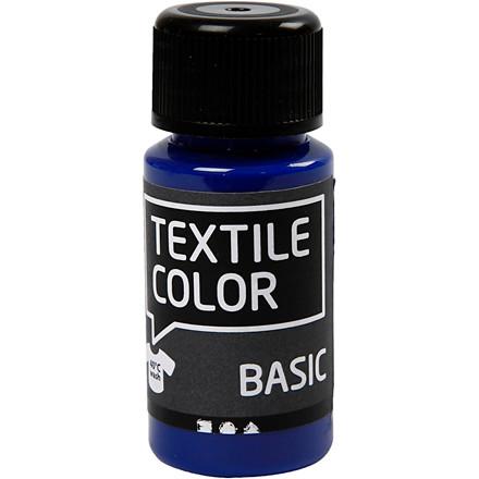 Textile Color, primær blå, 50ml