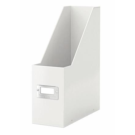 Tidsskriftholder A4 hvid | Leitz Click & Store