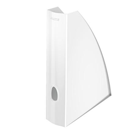 Tidsskritsamler A4 Leitz Plus | WOW hvid