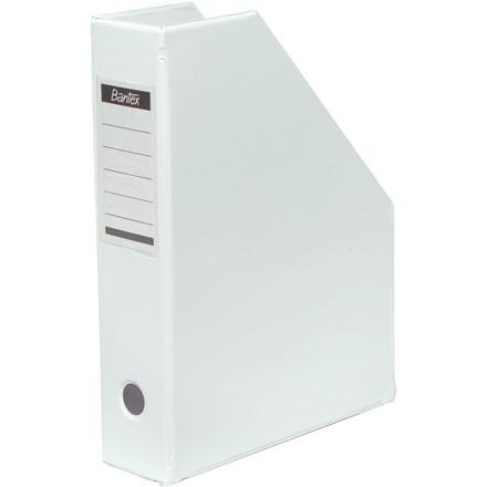 Tidsskriftskassette A4 med 65 mm ryg ELBA - Hvid