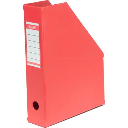 ELBA tidsskriftskassette A4 med 65 mm ryg - Rød