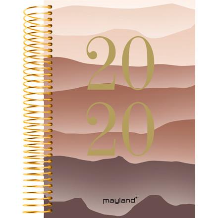 Timekalender Bjerg soft 17x23,5cm 1 dag/side 20 2180 30