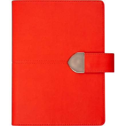 Timekalender kunstskind rød 17x23,5cm 1 dag/side 20 2183 10