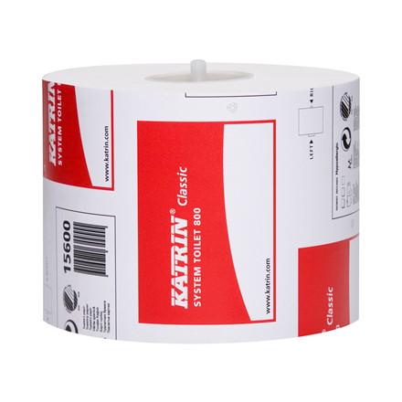 Katrin 156007 Classic System Toiletpapir 800 2-lags 100 meter - 36 ruller