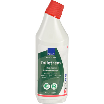 Toiletrens, Abena Puri-Line, 750 ml, med farve og parfume