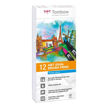 Tombow ABT Dual Brush 12/W basic  12C-1