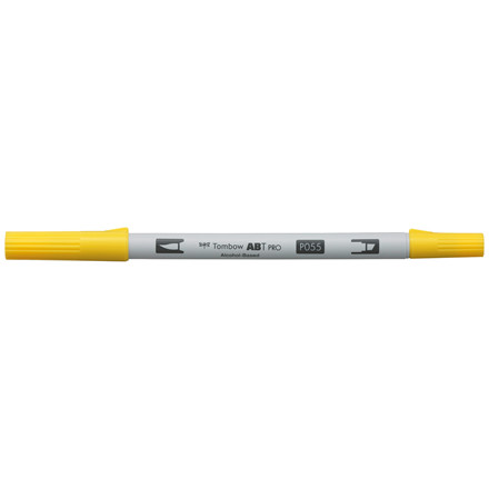 Tombow Marker alcohol-based ABT PRO Dual Brush 055 process yellow