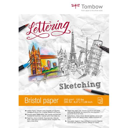 Tombow Skitseblok Bristol A4 250 g/m²