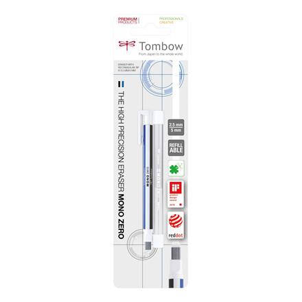 Tombow Viskelæder pen MONO Zero 2.5x5mm blister