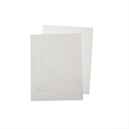 Transferark, ark 21,5x28 cm, hvid, 12ark