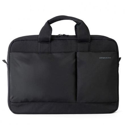 "Tucano Business Bag Piú 15,6"" Laptop, Black"