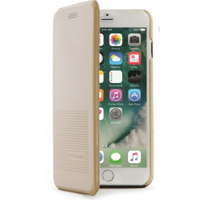 Tucano Cover DUEinUNO iPhone 7 magnetic gold