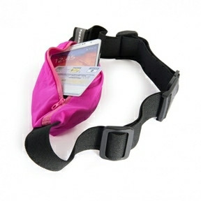 Tucano Sporty waistband for 6'' smartphones fucsia