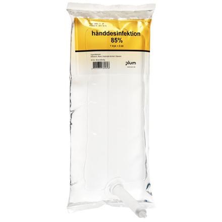 UDSOLGT Hånddesinfektion, Plum, med 85% ehtanol blanding hvoraf 6% er IPA, 1000 ml,