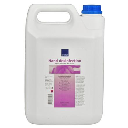 UDSOLGT Håndsprit Abena 85% ethanol til påfyldning - 5 liter dunk